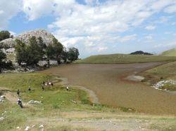 High-Mountain Lake Dragane in Shebenik-Jabllanice NP
