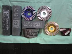 Assorted grinding tools