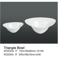 Triangle Bowl