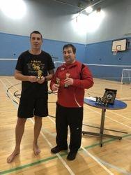 Handicapped Tournament Mens Singles