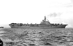 HMS Bulwark of Borneo 1962-3