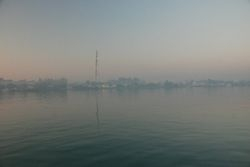 Marsh Harbour at sunset