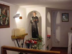 San Gerardo Statue in House Chapel