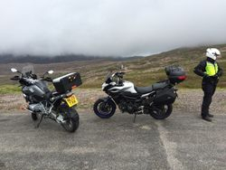 yes, that's cloud, on Applecross pass top