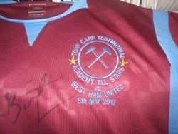 Tony Carr Testmonial shirt