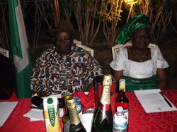 THE AMBASSADOR AND HIS WIFE