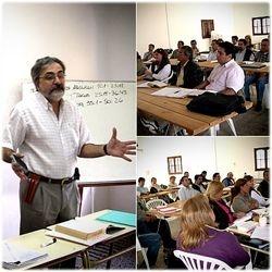 Profesor y alumnos