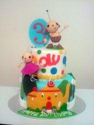 Rolie Polie Olie Cake (B007)