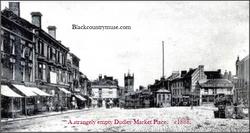 Dudley Market. c1888.