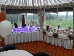 Large Twin Chocolate Fountain hire + Candy buffet, Contact Sweet Candy Dreams On 07450650200