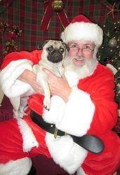 Frank and Santa