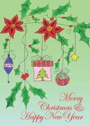 Dangle Ornaments Green