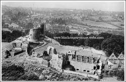 Dudley Castle. 1928.