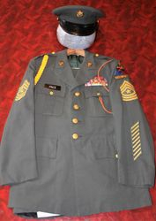 49th Armored Division, Sergeant Major: