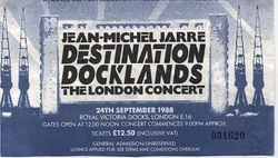 Used Docklands Ticket