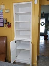 Paint Grade Storage Built Into Closet 2