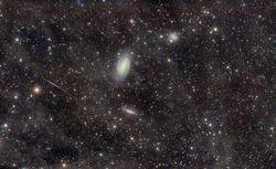 M 81 M 82 & Meteor