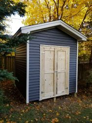 8' x 8' Standard Shed