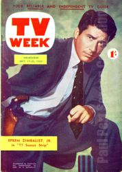 77 Sunset Strip - Efrem Zimbalist Jr.