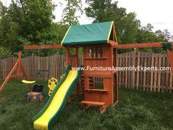 swing set installation service in la plata MD