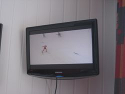 XC Skiing 24/7 on the Television