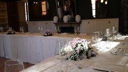 Sala addobbata per cerimonia