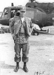Helicopter Pilot in Infantryman Vest: