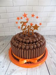 Orange malteser cake