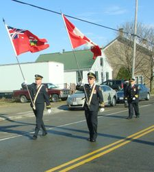 E-K Volunteer Firemen Colour Guard