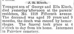 Kinch, J. B. 1890