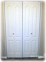 Bi-Fold Door installed