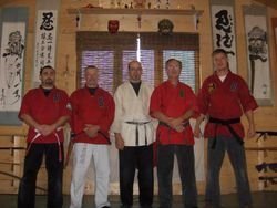 Juko Kai Recognized Shizenden Ryu Soke, Soke Dai with Shihan's