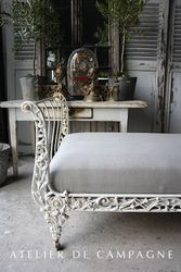SOLD #23/311 Sled Bed Cast Iron Detail SOLD