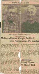 Martin Peter Corcelius (1881-1968) and Bertha May (Garner) Corcelius (1885-1960)