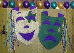 Tragedy & Comedy Masks