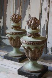 #19/200 Italian Wooden Lamp Bases