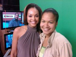 Demetria McKinney & Friend On Channel 11 News