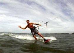 Kiteboarding in the Tampa Bay