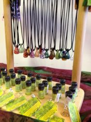 Pixie Glass Aroma therapy necklaces