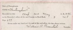 Property Deed from Martha J. Norris to Philip C. Fisher - Page 5