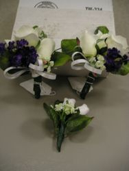 Wedding Corsages/Boutonniere