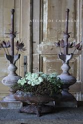 #29/262 JARDINIERE WITH FINIALS