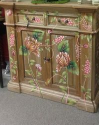 Bramble Hand Painted Console...LOVE