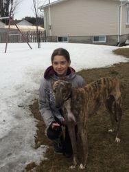 Alyssia with Dawson