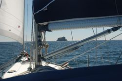 A rock off Cape Finisterre