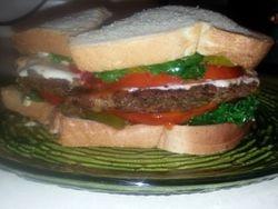 Lentil Veggie Burger 3