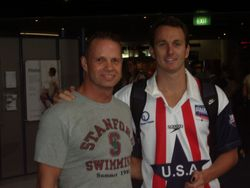 With Aaron Peirsol
