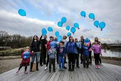 Balloon Release For SBS Awareness