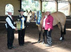 2012 State Grand Champion Buckskin or Dun