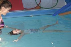 Clara floating